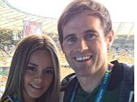 Stunning: In another tweet Kilbane described Colombia as the 'best looking I've seen so far'