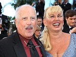Happy couple: Actor Richard Dreyfus and Svetlana Dreyfuss attending the Premiere of 'Nebraska' during the 66th Annual Cannes Film Festival last year in France