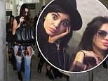 Touch down! Kendall and Kylie Jenner jet into Toronto on Saturday, and were promptly mobbed by fans while at the airport
