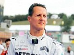 Road to recovery: F1 legend Michael Schumacher is no longer in a coma and has moved from his hospital