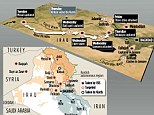 Battleground: How ISIS have stormed through Iraq towards Baghdad