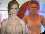 So just what is the secret behind Nicole's busty look? Kidman sparks breast enhancement talk after she steps out in a VERY low cut dress
