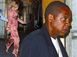 Beyonce and Jay Z hit the theatre