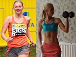 Personal trainer Julia Buckley shifted her 'stubborn fat' by doing less running