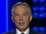 Tony Blair appeared a self-serving fantasist with blood on his hands when he was interviewed on Sky News