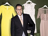 Gok's fashion picks: He recommends, clockwise from left, colour-blocking with this vivid yellow number, eccentric prints, modern but still demure and chic lace and a dress and jacket combination for those who want to keep covered up
