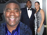 Condition upgraded: Tracy Morgan, shown in April in New York City, has been upgraded to fair condition following an auto collision that killed his mentor and fellow comedian James McNair