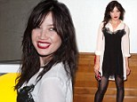 Is it a nightie, a blouse or a dress? Quirky Daisy Lowe wears a bizarre ensemble as she attends London Collections events
