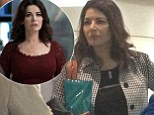 Nigella Lawson cleared customs at Auckland Airport on 3rd May