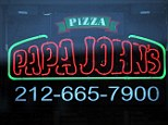 Top marks: Papa John's - along with Pizza Hut - scored highest in the report