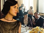 'I'm here until the end!' Michelle Dockery vows never to quit Downton Abbey as new pictures give a sneak peek at season five