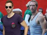 How Coldplay rocker Chris Martin transformed from scrawny to bulky with a little help from Jay Z