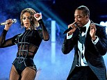 Slow sales: Beyonce Knowles and Jay-Z, shown performing together in January in Los Angeles, have plenty of tickets remaining for their upcoming concert tour