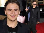Should be a Thriller! Prince Jackson looks excited at True Blood final season premiere
