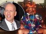 A Good Day To Dress As Mrs Doubtfire? Scout Willis shares wickedly funny snap of dad Bruce in drag
