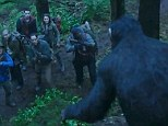 New Dawn Of The Planet Of The Apes clip reveals tense standoff between humans and genetically modified simians