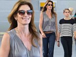 She's my Mini Me! Daughter Kaia is the younger spitting image of her model mother Cindy Crawford