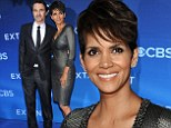 She's out of this world! Halle Berry takes the plunge in skin-tight dress as she arrives with Olivier Martinez to premiere of astronaut drama Extant