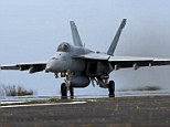 Surveillance plane? F-18 Super Hornets are attack aircraft, but the Pentagon is using them to fly 'surveillance' flights over Iraq