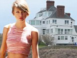 Three people arrested outside Taylor Swift's Rhode Island beach house for throwing beer bottles and shouting expletives at security