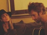 Amicable exes: Nikki Reed shared a video on Instagram of herself and her ex Paul McDonald making music on Wednesday