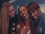 Beyonce takes a backseat as Destiny's Child reunites in video for Michelle Williams' solo single Say Yes