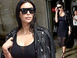 Kim Kardashian is seen arriving at Nice airport on June 18, 2014 in Nice, France