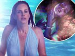 Lana Del Rey's new video Shades Of Cool features gun imagery and depicts her as object of desire to older man... released days after disturbing 'death wish' interview