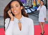 Rochelle Humes at film gala