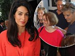 EXCLUSIVE: Amal Alamuddin blows off George Clooney's family reunion in Kentucky to 'save the world,' but aunt confirms the couple WILL wed in Italy in September and Brad Pitt tapped to be best man