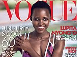 Starring on her first Vogue cover, 31-year-old Lupita Nyong'o opens about losing her anonymity and what it really takes to navigate the 'war zone' that is the red carpet