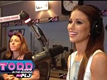 All smiles: Nia Sanchez before she was questioned about Nevada's capital on The Todd Show
