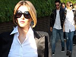 Cheryl Cole matches outfit with French boyfriend's
