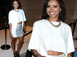 Kat Graham, the 24-year-old Vampire Diaries actress, showed off her lean legs and midriff while attending the launching of the Vera Wang store on Rodeo Drive in Beverly Hills
