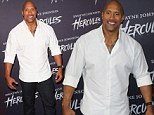 'You never know': Dwayne 'The Rock' Johnson says it's possible depression could strike again as he draws hundreds of fans at Hercules screening in Sydney
