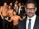 Magic Mike star Joe Manganiello keeps his clothes on at premiere of his directorial debut La Bare about popular male strip club