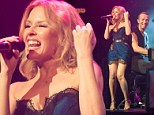 'Thank you for the magic!' Coldplay and Kylie Minogue perform surprise duet on stage at band's electrifying Sydney show