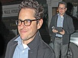 JJ Abrams takes a break from filming Star Wars as he enjoys a night out at the Chiltern Firehouse