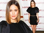 Simple yet chic: Rose Byrne looked lovely in a little black dress as she attended the New York Women In Film & Television Awards in New York City on Wednesday