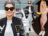 Rita Ora transforms from Hollywood hottie to laid-back Londoner as she jets back to the UK in grey tracksuit and a baseball cap