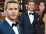 The look of love: True Blood's Ryan Kwanten and his girlfriend Ashley Sisino put on tender display of affection at True Blood season seven premiere