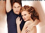 Dead sexy! Anna Paquin smoulders as she snuggles up NAKED to Stephen Moyer inside a coffin for magazine cover