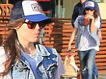 She's not a Tom Boy today! Ellen Page steps out in new hat and double denim ensemble to grab a vegan lunch in West Hollywood
