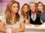 'I've put on four stone and my husband cheated on me': Pregnant Katie Price says she feels 'insecure' after Kieran Hayler's affair as she co-hosts Loose Women