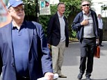 They're back! Reunited Monty Python stars press on with rehearsals as the kick-off date for sold-out shows approaches