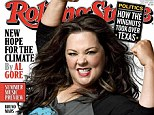 'I could eat healthier, I could drink less': Melissa McCarthy on why she refuses to change her 'self-destructive' habits