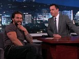 His lips are sealed: Jason Momoa is playing coy in regards to whether he will star as Aquaman in the 2016 film Batman Vs Superman: Dawn Of Justice