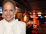Bride-to-be Katie Couric crooned Will You Love Me Tomorrow at her karaoke bachelorette party in NYC