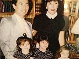 Khloe Kardashian shared a throwback Thursday photo on Instagram of her two older sisters, mom Kris, and dad Robert