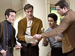 In harmony: Vincent Piazza, Erich Bergen, John Lloyd Young and Michael Lomenda in Jersey Boys